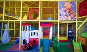 Interior of children's room — 图库照片