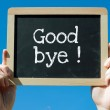 Good Bye — Stock Photo #41960297