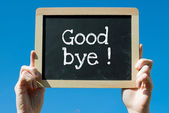 Good Bye — Stock Photo