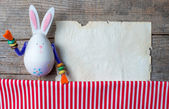 Easter rabbits decoration — Stockfoto