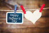 Happy Fathers Day — Stockfoto