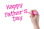 Happy Father's day — 图库照片