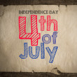 4 of july — Stock Photo #42355859