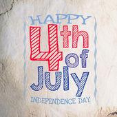Joyeux jour de l'indépendance 4 juillet — Photo