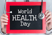 World health day — Stock Photo