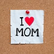 I love mom — Stock Photo