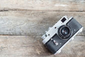 Vintage photo camera — Stock fotografie