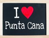 I love punta cana — Stock Photo