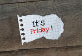 It is Friday! — Stock Photo
