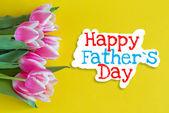 šťastný otec den — Stock fotografie