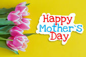 Happy mother's day — Foto Stock