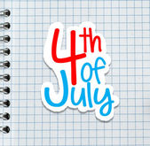 4th July — Stock Photo