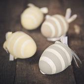 Pastelowe kolorowe pisanki — Zdjęcie stockowe