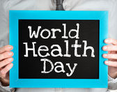 World health day concept — Stock Photo