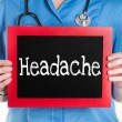 Headache — Stock Photo