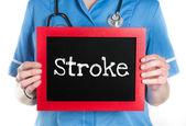 Accidente cerebrovascular — Foto de Stock