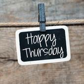 Happy Thursday — Stock Photo