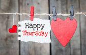 Happy Thursday — Foto de Stock