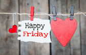 Happy Friday — Stock Photo