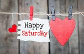 Happy Saturday — Foto de Stock