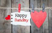 Happy Sunday — Foto de Stock
