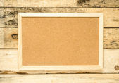 Placa de cortiça — Foto Stock