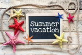 Summer vacation — Stock Photo