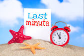 último minuto — Foto de Stock