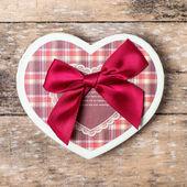 Heart shape box — Stock Photo
