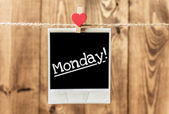Love Monday — Stock Photo