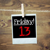 Friday 13 — Stock Photo