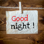 Good night — Stock Photo