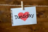 Tisdag — Stockfoto