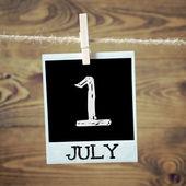 1 july — Stock Photo