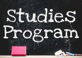 Studies program — Stock Photo
