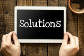 Solutions — Stock Photo