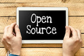 Open source — Stock Photo