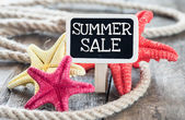 Summer sale — Stockfoto
