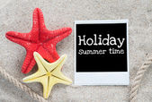Holiday summer time — 图库照片