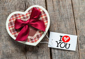 Heart shape box — Foto de Stock