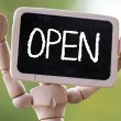 Open sign — Stock Photo #49210179