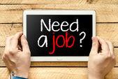 """""""Need a job?"""" — Stock Photo"""