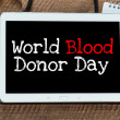 Blood donor day — Stock Photo #50371609