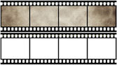 Lege filmstrip — Stockfoto