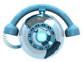 Phone circular — Stock Photo