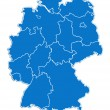 Stock Photo: Germany map