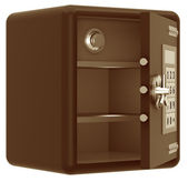 Bank safe — Stockfoto