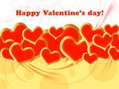Valentin Day Card — Stock Photo
