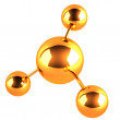 Molecule icon — Stock Photo #40861325