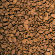 Freeze dried coffee granules — Stock Photo